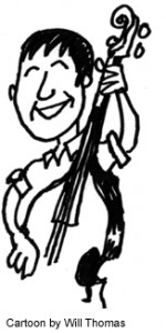 Cartoon of Andy by Will Thomas